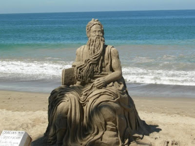 Awesome Sand Art Sculpture