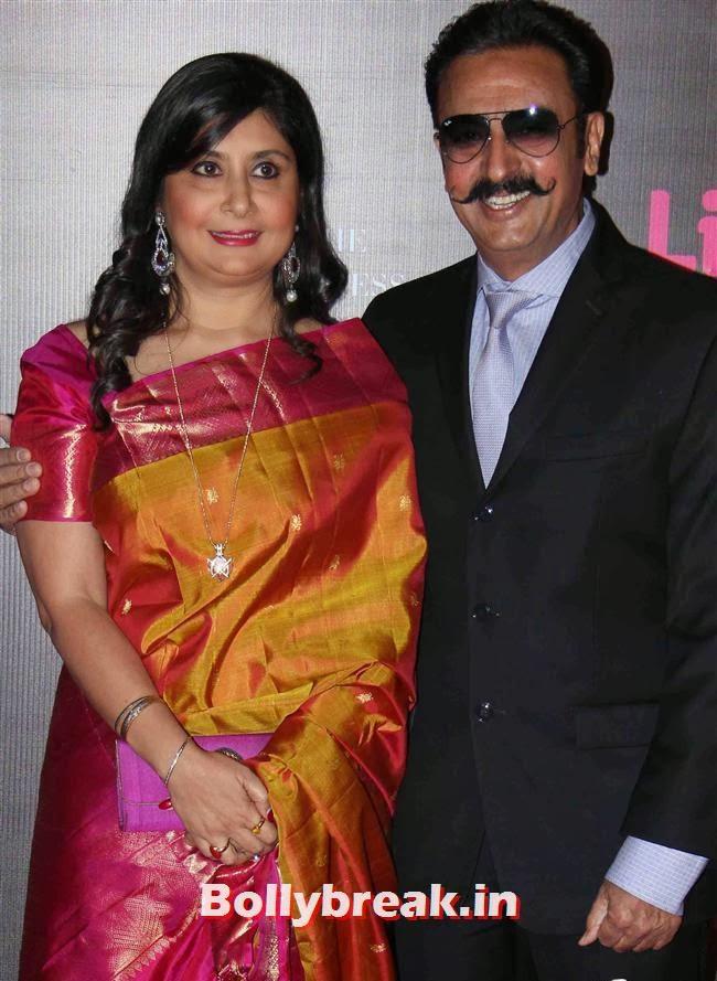 Gulshan Grover, Bollywood Wags at Screen Awards 2014