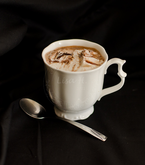 Seasalt Chocolate Marshmallow swirls in hot chocolate