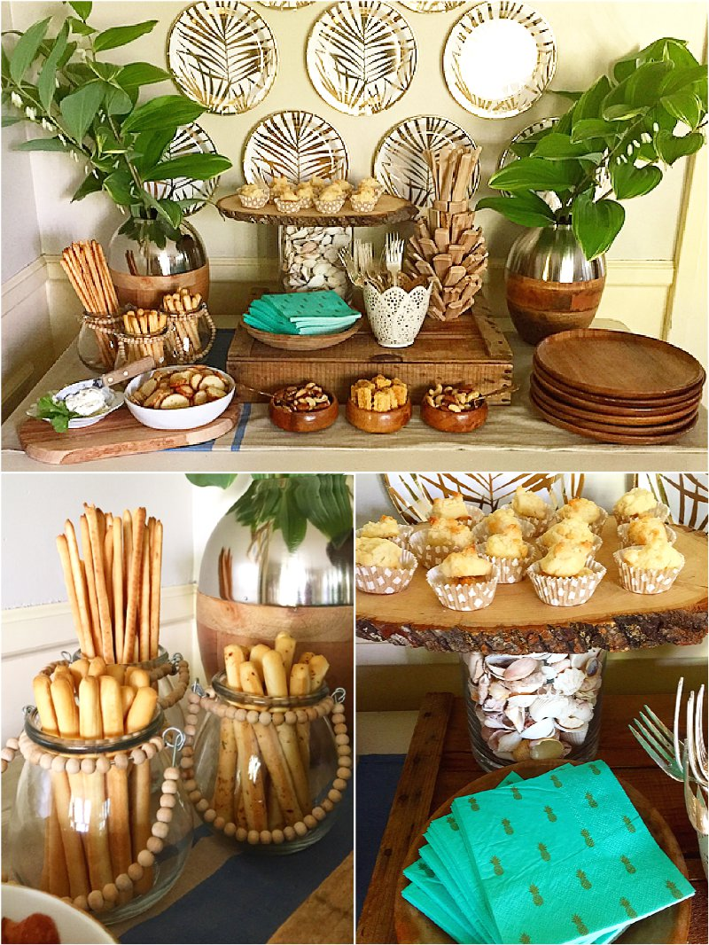 Tropical party ideas via BirdsParty.com @birdsparty