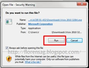 Cara Install Microsoft Office Visio 2010 (32 Bit dan 64 Bit)
