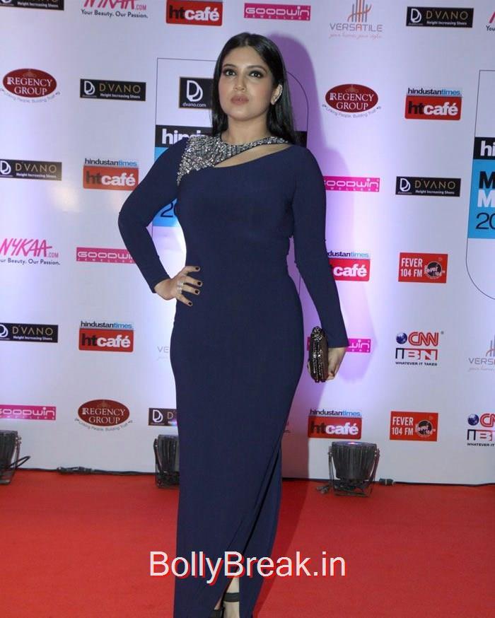 Bhumi Pednekar, Mumbai's Most Stylish Awards 2015 Full Photo Gallery