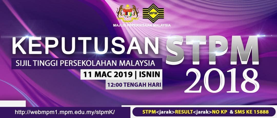 Keputusan STPM 2018