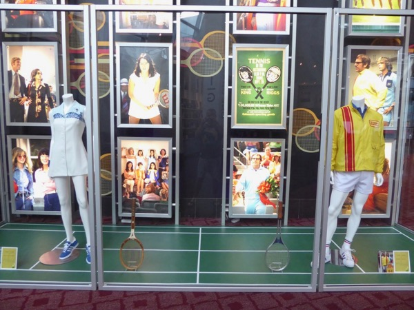 Battle of the Sexes movie costumes props
