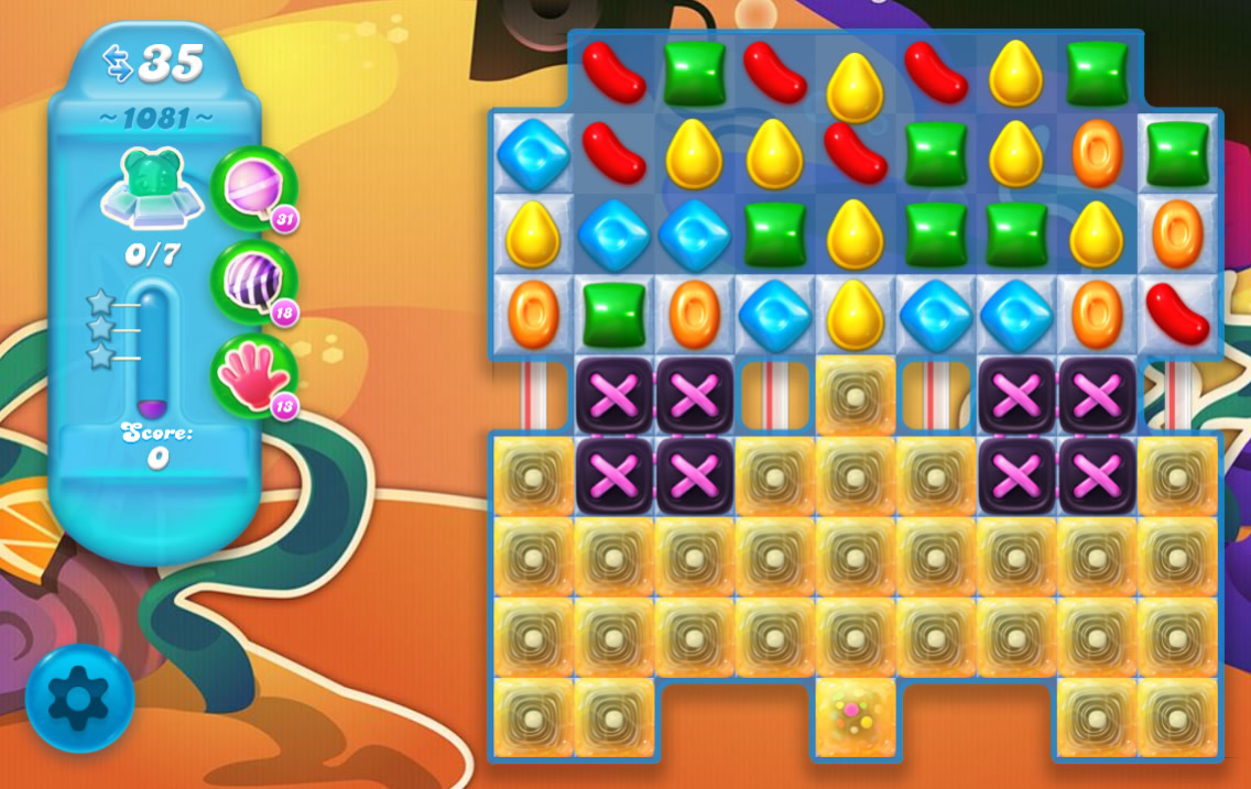 Candy Crush Soda Saga 1081