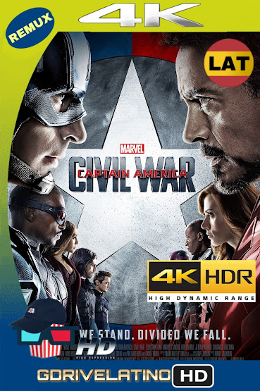Capitán América: Civil War (2016) BDRemux 4K HDR Latino-Ingles MKV