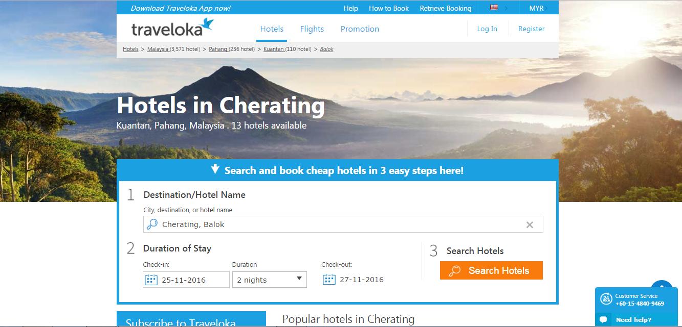 Cherating Hotel dan Terokai 4 Destinasi Menarik