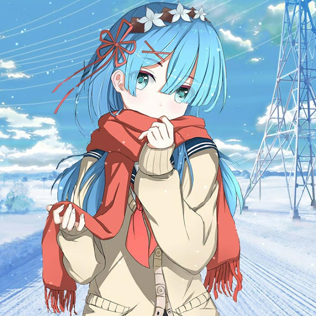 Snowy Girl Wallpaper Engine