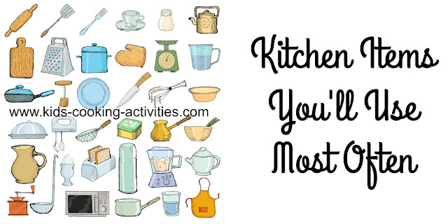 http://blog.kids-cooking-activities.com/2015/11/must-have-kitchen-items.html