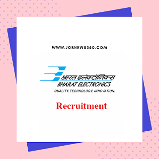 BEL Recruitment 2020 for Project Engineer-I