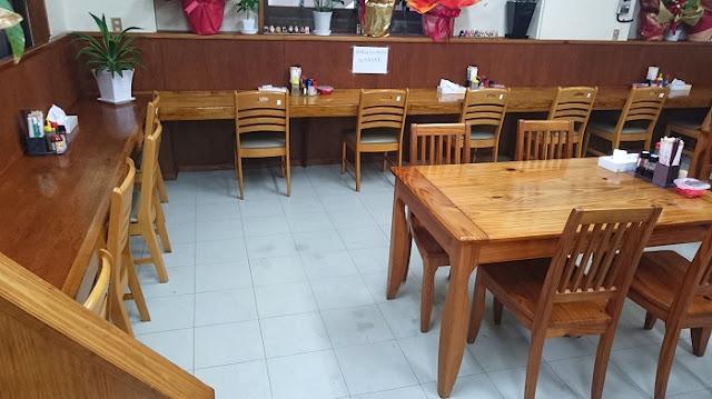 大衆食堂つかでん!の店内の写真