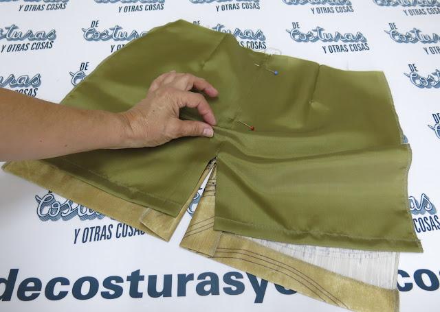 tutorial forrar falda recta