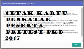 Cara Mencetak Surat Pengantar Peserta Pretest SIM PKB 27 Agustus - 9 September 2017