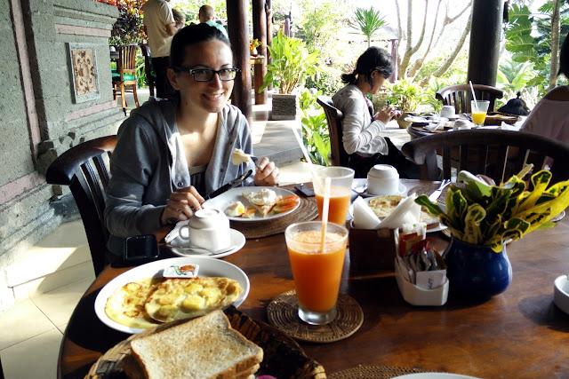 Desayuno de nuestro segundo día en Bali
