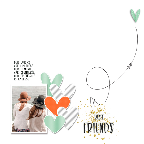 best friends © sylvia • sro 2019 • duo templates vol. 04 & better together by dunia designs by dunia designs