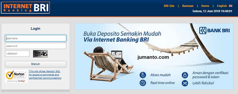 cara transfer uang lewat internet banking bri