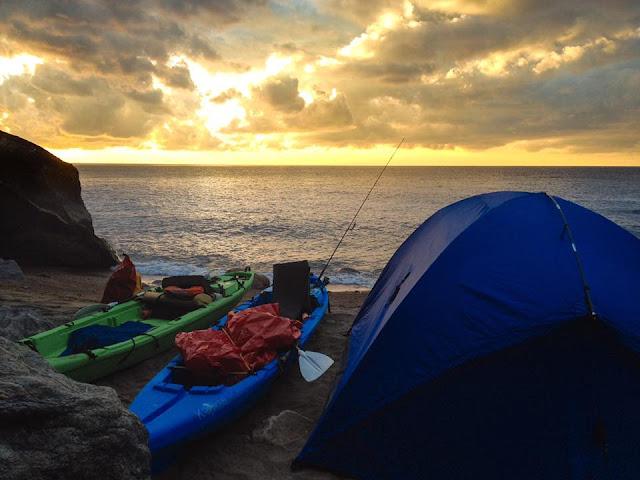 Camping Legend Kayak style