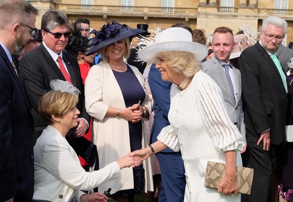 The Prince of Wales, The Duchess of Cornwall and Princess Anne