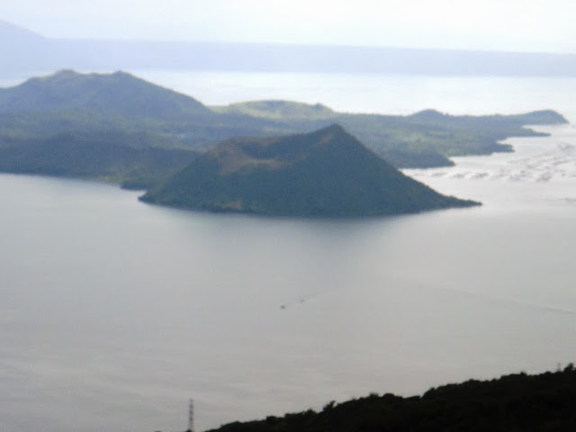 View of Taal Volcano from RMS Restaurant