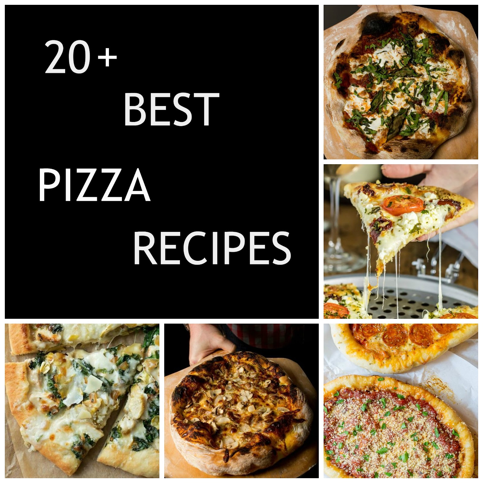 The best homemade pizza recipes to be found on Pinterest!