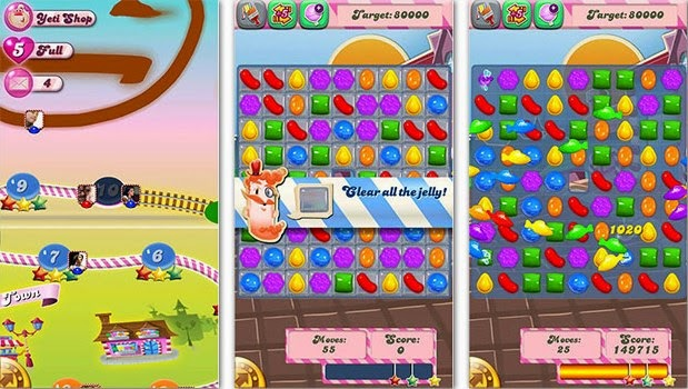 Download Game Android: Candy Crush Saga v1.66.0.7 apk