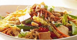 salad sayur kubis enak sehat