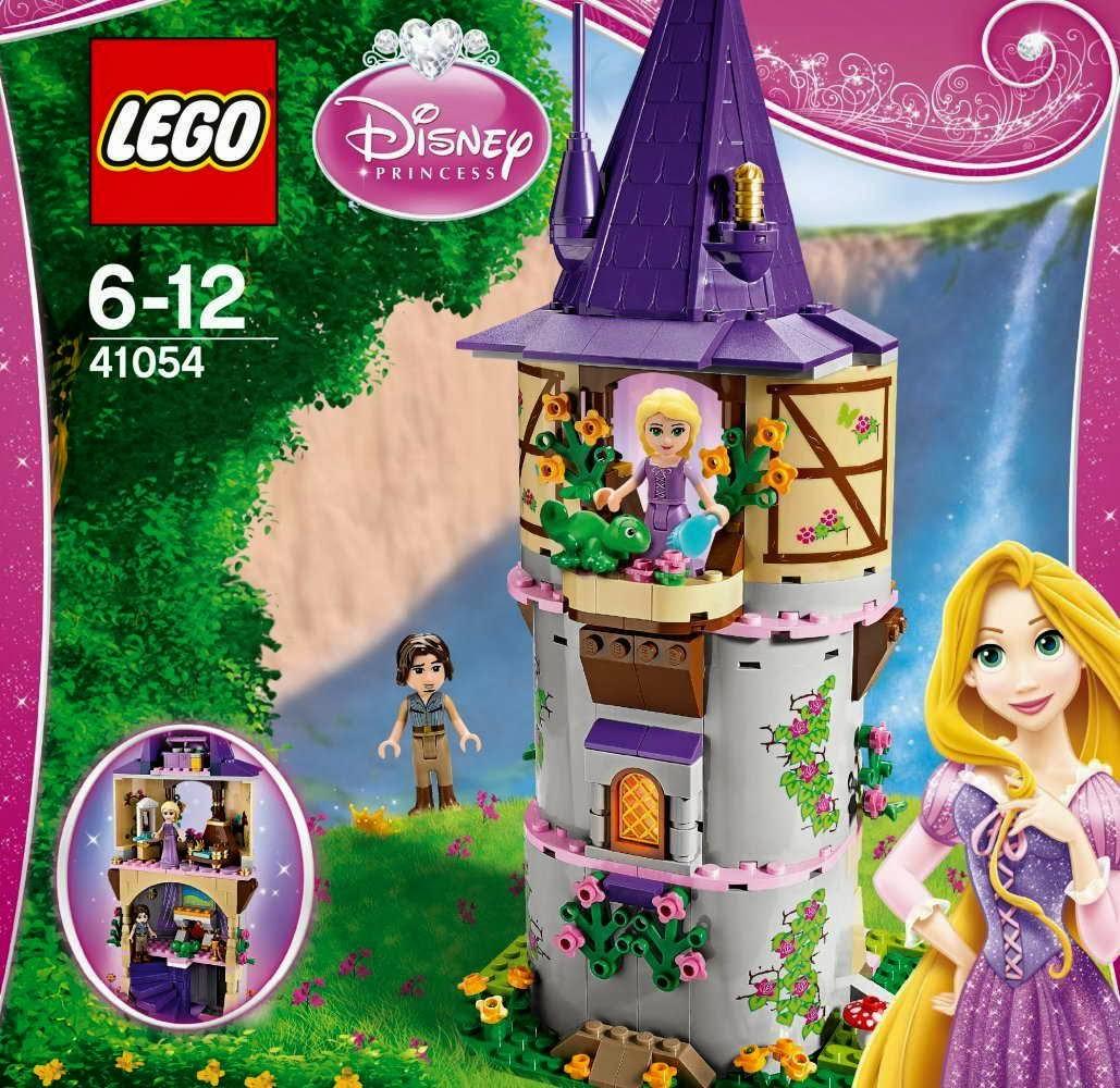 disney princess chair cotton dining covers uk www.onetwobrick.net: set database: lego 41054 rapunzel's creativity tower