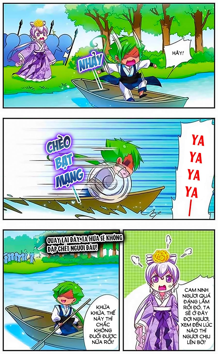 Manh Tam Quốc Chap 111 - Next Chap 112