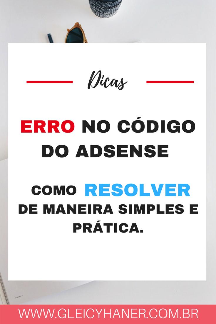 codigo do adsense nao funciona blogger