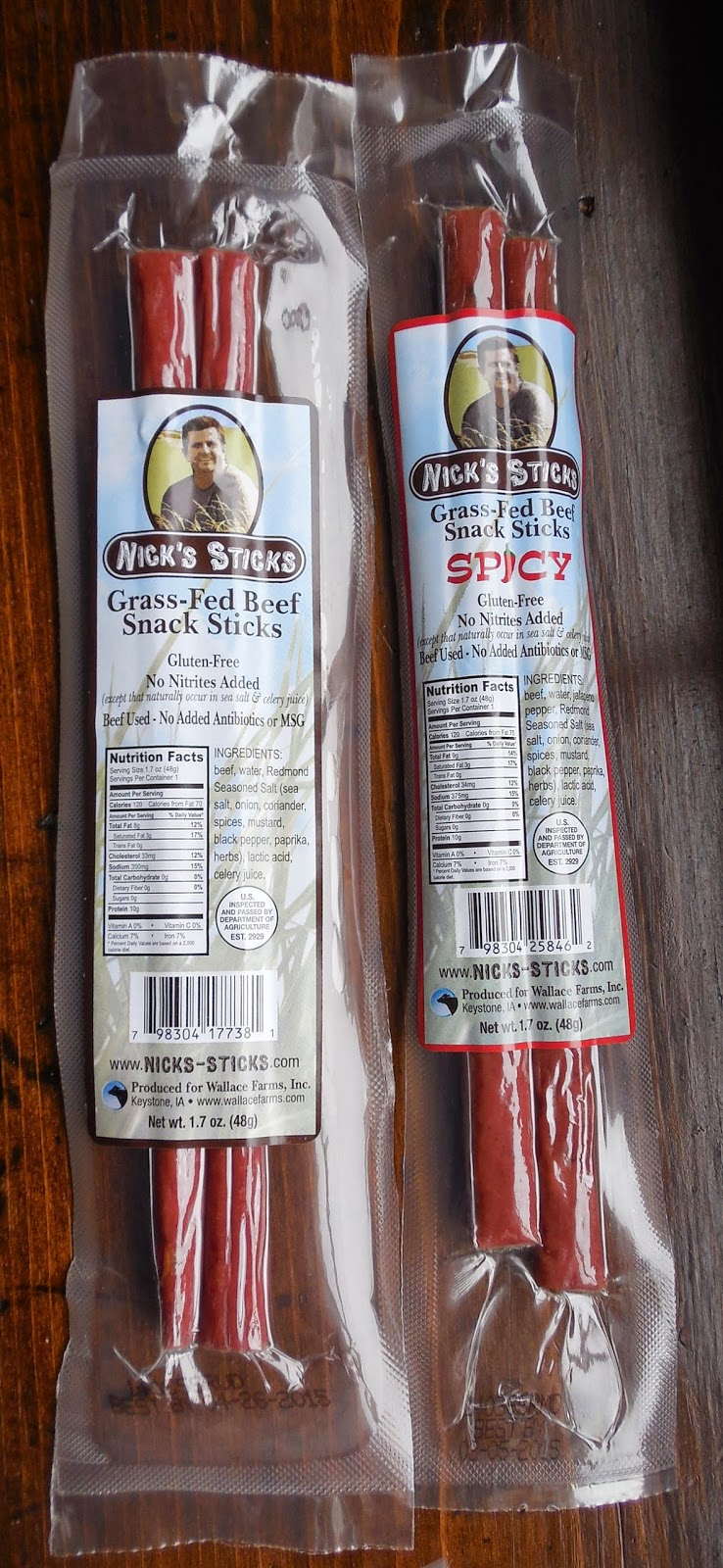 Nick's Sticks Beef Sticks