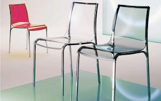 стеклянный стул