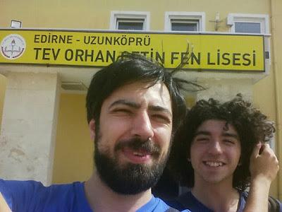 Ercan Bozkurt ile Tugay Tuna Edirne'de TEV Orhan Çetin Fen Lisesinde