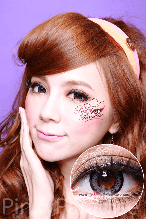 Geo Angel Grey Circle Lenses (Colored Contacts)