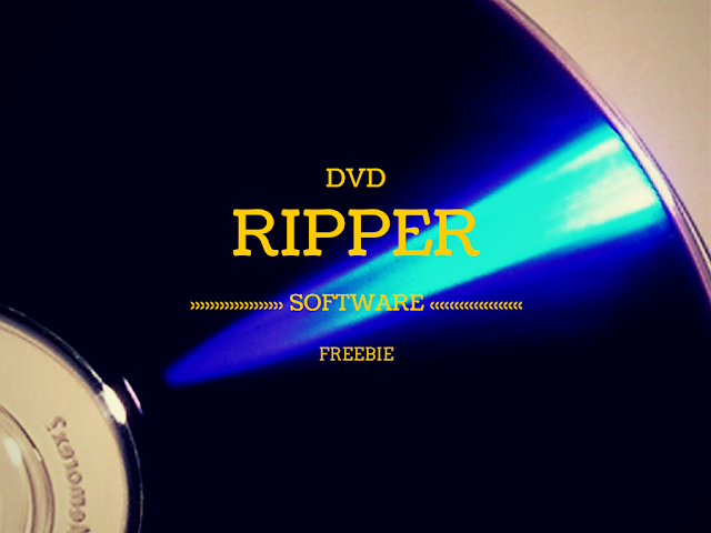 Dvd Ripper Software