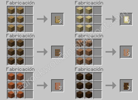 Minecraft Todos Los Crafteos De Minecraft 18 Y Poción De Salto