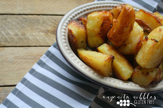 Cruelty free vegan roast potatoes