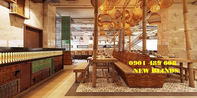 demo tre trúc nhà hàng