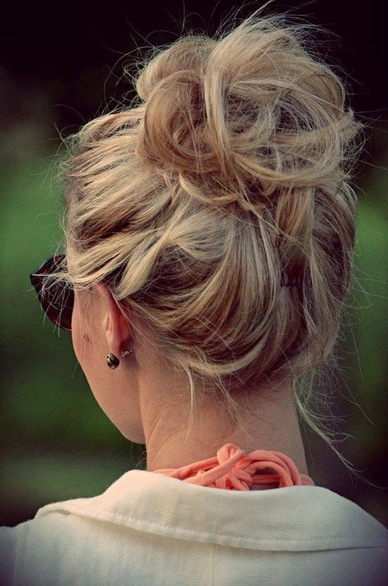 Outstanding Beautiful Messy Buns Images And Video Tutorials Hairstyles For Men Maxibearus
