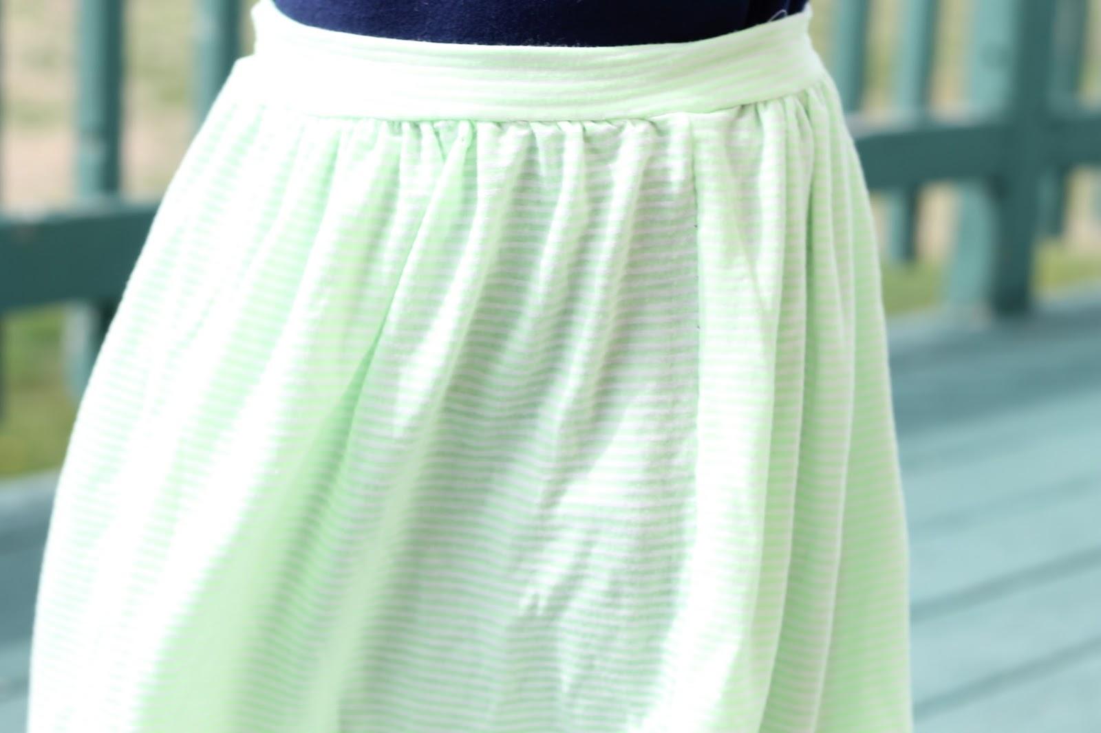 Girls Simple Skirt Free Tutorial - GYCT Designs