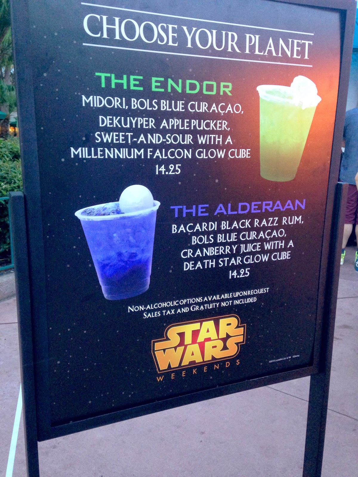 geek with curves: The Drinks of Star Wars Weekends
