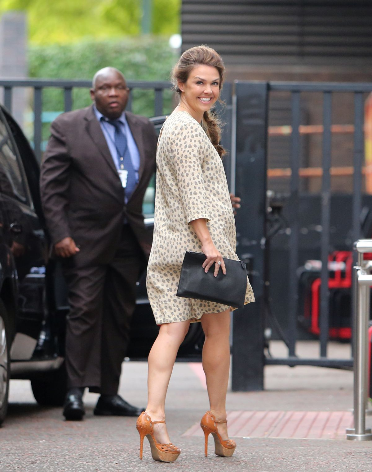 Adele Silva At Itv Studios In London