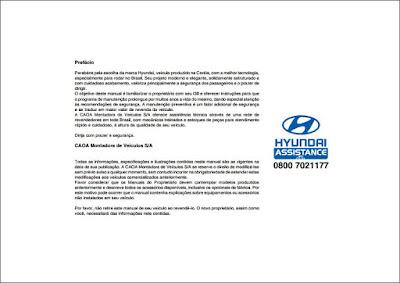 Manual do proprietário Hyundai i30