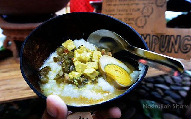 Bubur Ayam Kampung, salah satu kuliner asyik untuk sarapan