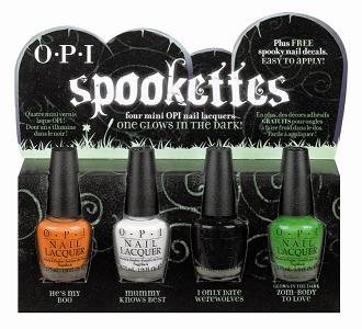 Nail Polish Malaysia Opi Halloween Spookettes Swatches