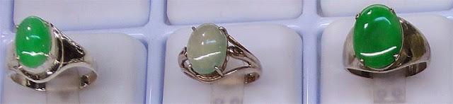 green longevity rings for men in gold an d silver