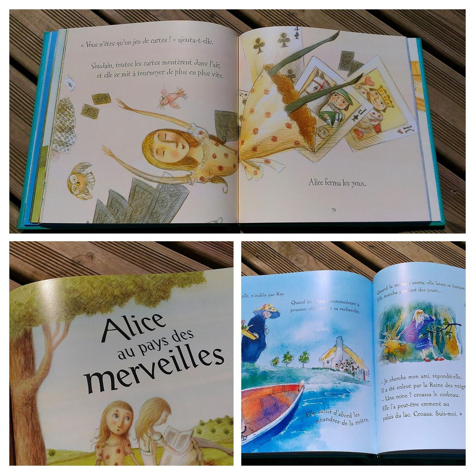 Histoire pour les petits : Alice au pays des merveilles et autres histoires - éditions Usborne
