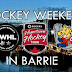 CWHL and Hometown Hockey in Barrie this weekend!