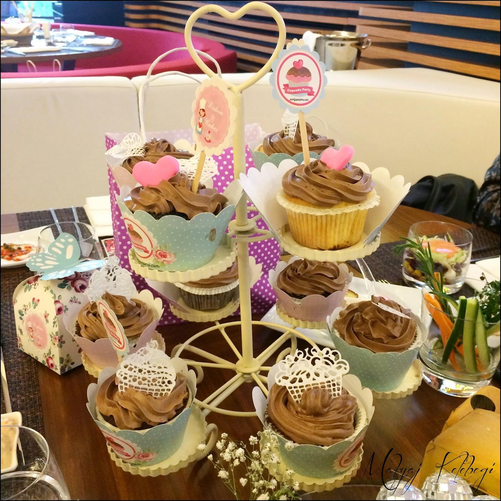 Basilico Cupcake Party-Pasta Kasrı