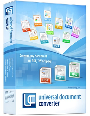 Universal Document Converter 6.7.1609.12160 poster box cover