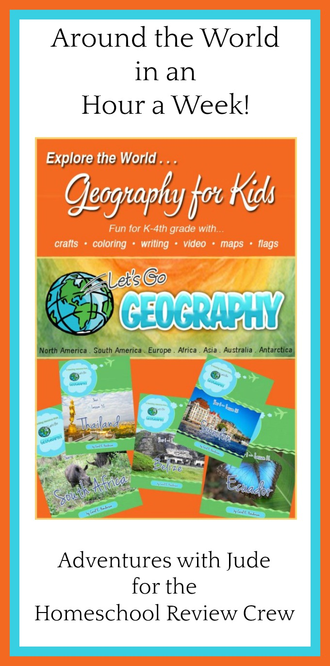 adventures with jude let u0027s go geography homeschool review crew